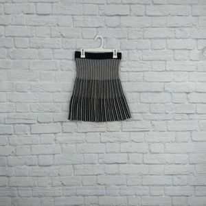 Candie's | B&W Knit Swing Skirt